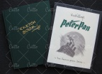 Sketchbook Peter Pan signed
