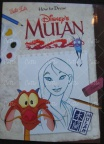 "How to draw ""Mulan"""