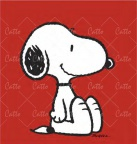 """Snoopy in Red"""